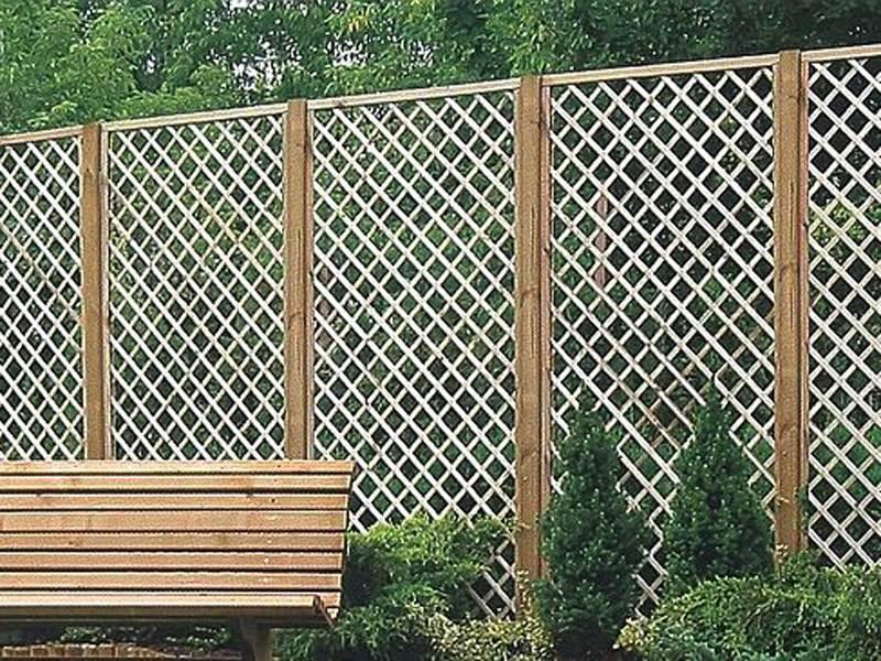 Деревянный забор №7